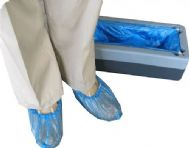 NEW 100 Disposable ANTI SKID Shoe Covers for the Kwik Kover Disposable Shoe Cover Overshoe Dispenser